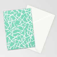 Kerplunk Mint Stationery Cards by Project M