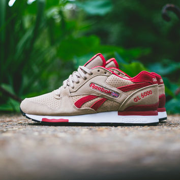 Reebok GL 6000 - Canvas/Excellent Red