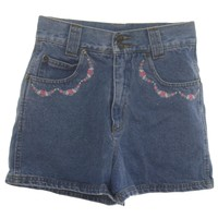 1990's Size Label Only Womens Wicked 90s Denim Shorts