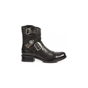 Newrock - M-GY05-S10 Ankle Boot Biker Boots