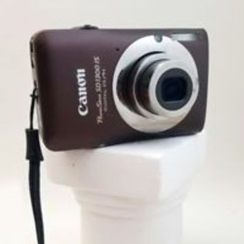 USED Canon PowerShot SD1300 IS 12.1MP Digital Camera - Brown