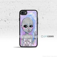 Cosmic Alien Phone Case Cover for Apple iPhone iPod Samsung Galaxy S & Note