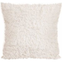 Teen Vogue Sherpa Decorative Pillow, White - Walmart.com