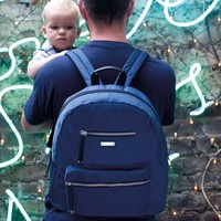 Storksak Charlie Backpack Diaper Bag - Navy