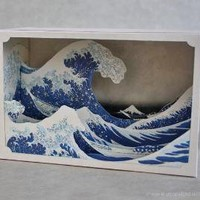 tatebanko  - great wave - shop - upon a fold