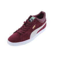 Puma Mens Stepper Classic Suede Signature Running, Cross Training Shoes