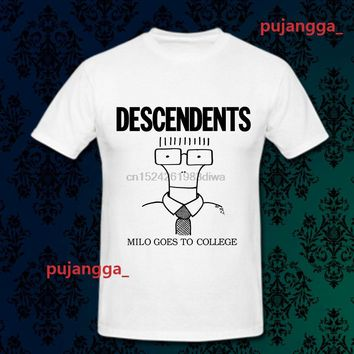 SHIRT DESCENDENTS - Milo Goes To College Unisex Punk Rock Band T-shirt - Various Colors