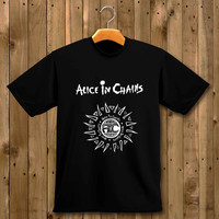 Alice In Chains white shirt for man and woman shirt / tshirt / custom shirt