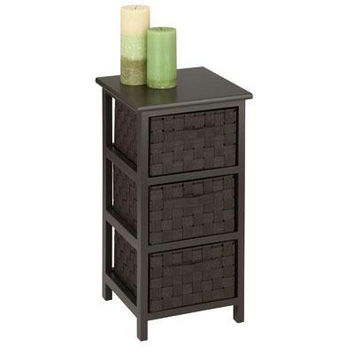 3drawer Storage Table Espresso