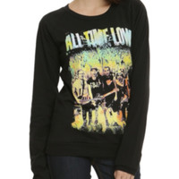 All Time Low Colorful Live Girls Pullover Top