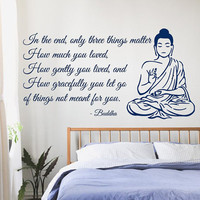 Decor Buddha Wall Decals