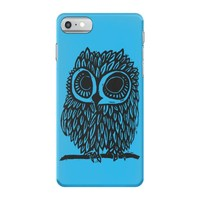 owl on athletic iPhone 7 Case