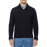 J.Crew Wallace & Barnes Cable-Knit Wool Sweater | MR PORTER