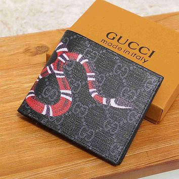 Gucci Women Fashion Leather Wallet Purse