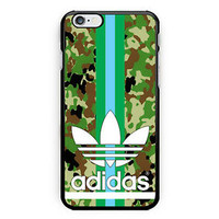Adidas Logo Camo Green strippes Hard Plastic Case For iPhone 6s, 6s plus, 7/7s