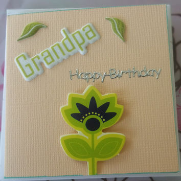 Birthday Card Grandpa - Handmade Cards - Any occasion cards - Made in Australia - unique cards  -  Mini Cards