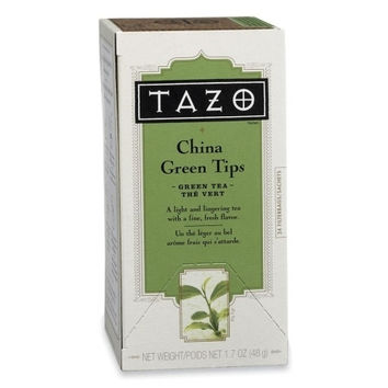 Starbucks Coffee Tazo China Green Tips Tea, 24/BX