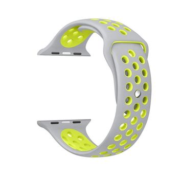 watchband for NIKE series 1:1 original with Light Flexible Breathable silicone watch strap band for Apple watch