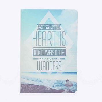 Heart Canvas Wall Art - Urban Outfitters