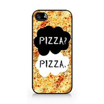 Pizza? Pizza. - Pizza - iPhone 5/5S Black Case (C) Andre Gift Shop