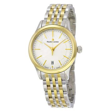Maurice Lacroix Gold Stainless Steel Ladies Watch LC1026-PVY13-130