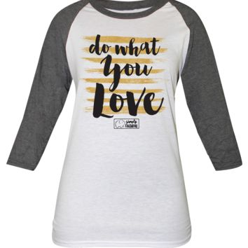 "Simply Southern's Simply Faithful ""Do What You Love"" Raglan Tees"