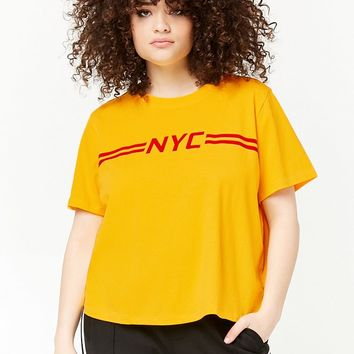 Plus Size NYC Graphic Tee
