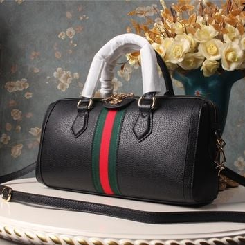 BLACK Gucci GG Designer Bee Small Cosmetic Bag for Purse in Bulk, Cute Toiletry Bag for Women, Travel Makeup Bag with
