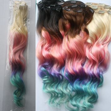 Best Pastel Hair Extensions Products On Wanelo