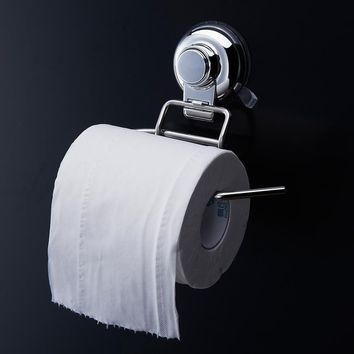 304 Stainless Steel Roll Towel Tissue Paper Holder Toilet Tissue Boxes Set Bathroom Accessories Wall Mount