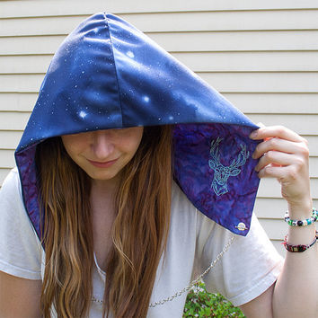 Festival Hood - Reversible with Interchangeable Chain - Minnesota inspired