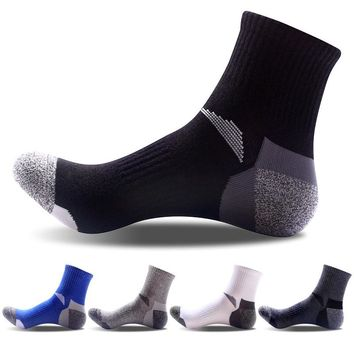 Breathable Combed Cotton Men's Socks