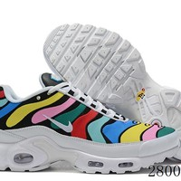 Hcxx 19July 1165 Nike Air Max Plus AQ5117-102 Sports Flyknit Running Shoes