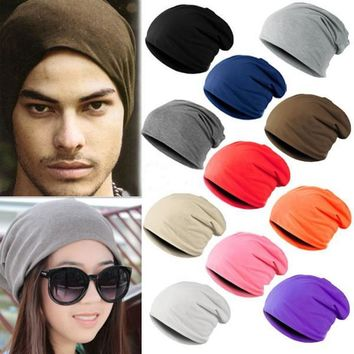 Stylish Winter Warm Unisex Knitted Ski Crochet Slouchy Hat Cap for Women Men Beanies Hip Hop Hats