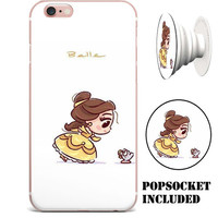 Disney's Beauty and the Beast Belle Case for Apple iPhone 6/6s (4.7 inch) (includes PopSocket)