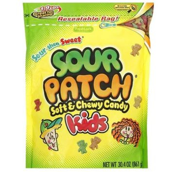 1 Large Bag Of Sour Patch Kids Soft Chewy Candy 30oz New, Always Fresh American