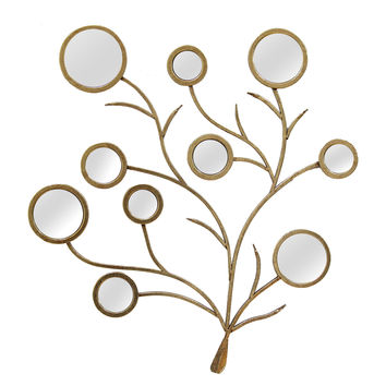 Mirrored Branches Wall Décor