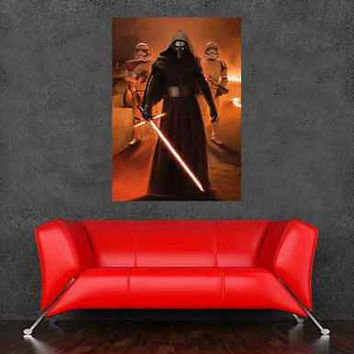 2015 Movie STAR WARS Poster Wall Sticker Bedroom Decor 36x24inch Great Design