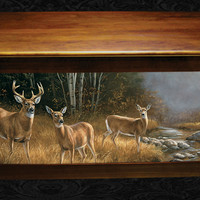 Whitetail Hope Chest with October Mist by Rosemary Millette