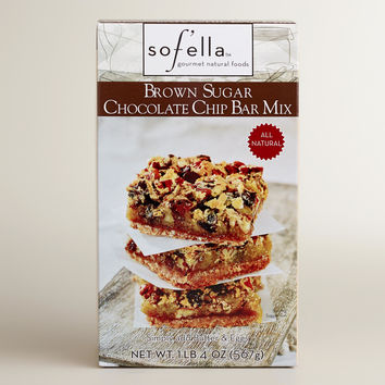 Sof'ella Brown Sugar Chocolate Chip Cookie Mix, Set of 2