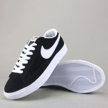Wmns Nike Blazer Mid Sde Fashion Casual Low-Top Old Skool Shoes-3