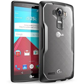 LG G4 Case, SUPCASE Unicorn Beetle Series Premium Hybrid Protective Clear Case for LG G4 2015 Release, Retail Package (Frost/Black)
