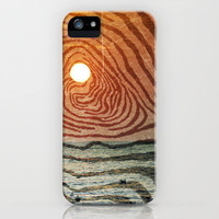 Hypnotic Sunrise  iPhone Case by TexturesForever | Society6