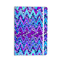 "Nika Martinez ""Blue Electric Chevron"" Everything Notebook"