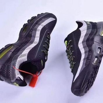 DCCKIG3 Nike Air Max 95 'Black/Green' Men Sneaker