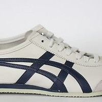 Onituska Tiger By Asics Mens Shoes Mexico 66 Birch India Ink Late