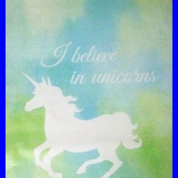 I Believe in Unicorns Self Adhesive Designer Poly Envelope Mailers