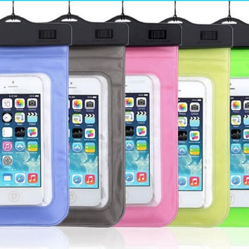 Waterproof Mobile Phone Bags with Strap Dry Pouch Cases Cover for LG G2 G3 G4 G5 LEON V10 K10 Swimming Case