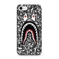 Bape Shark Black Army Pattern iPhone 6 | iPhone 6S case