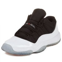 Air Jordan 11 Retro Low GS (White/Black-True Red) Size 4.5Y